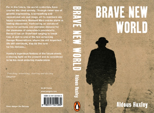 the pleasure principle in brave new world by aldous huxley and 1984 by george orwell