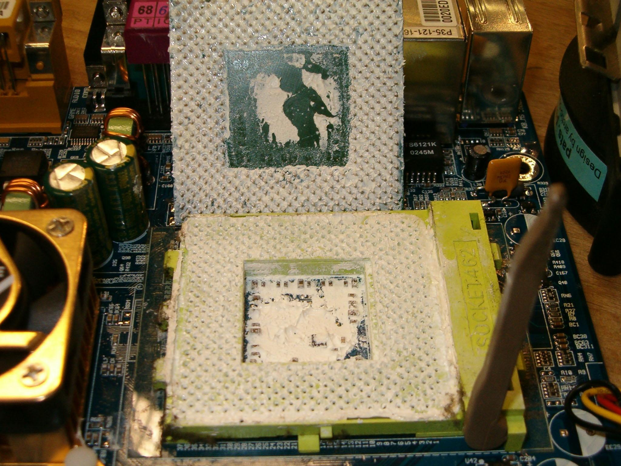 Как сделать процессор постоянным