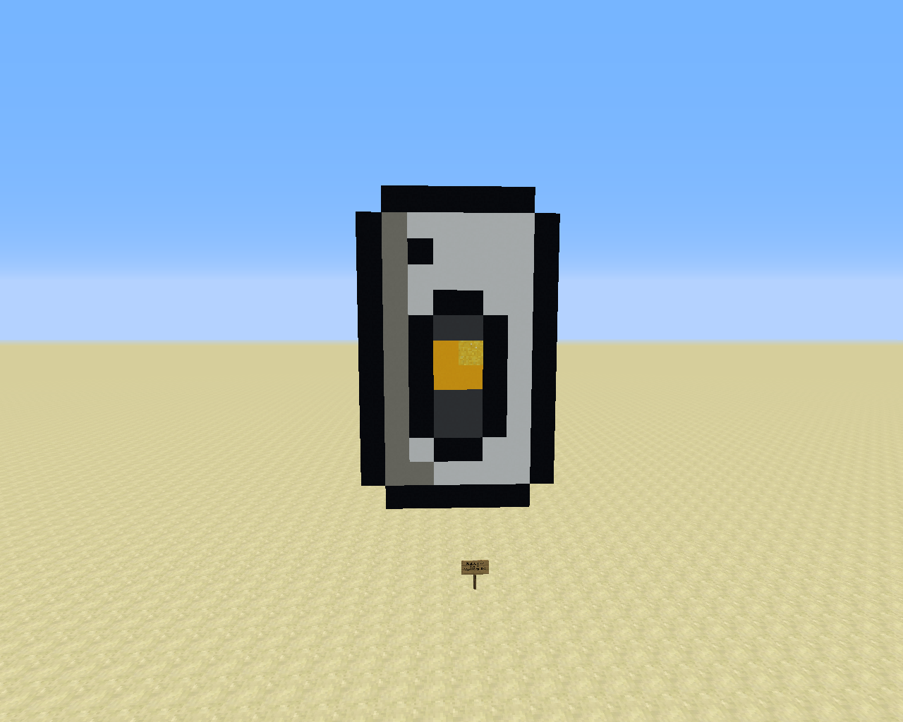 A custom sprite of GLaDOS, based on her current design from Portal 2.