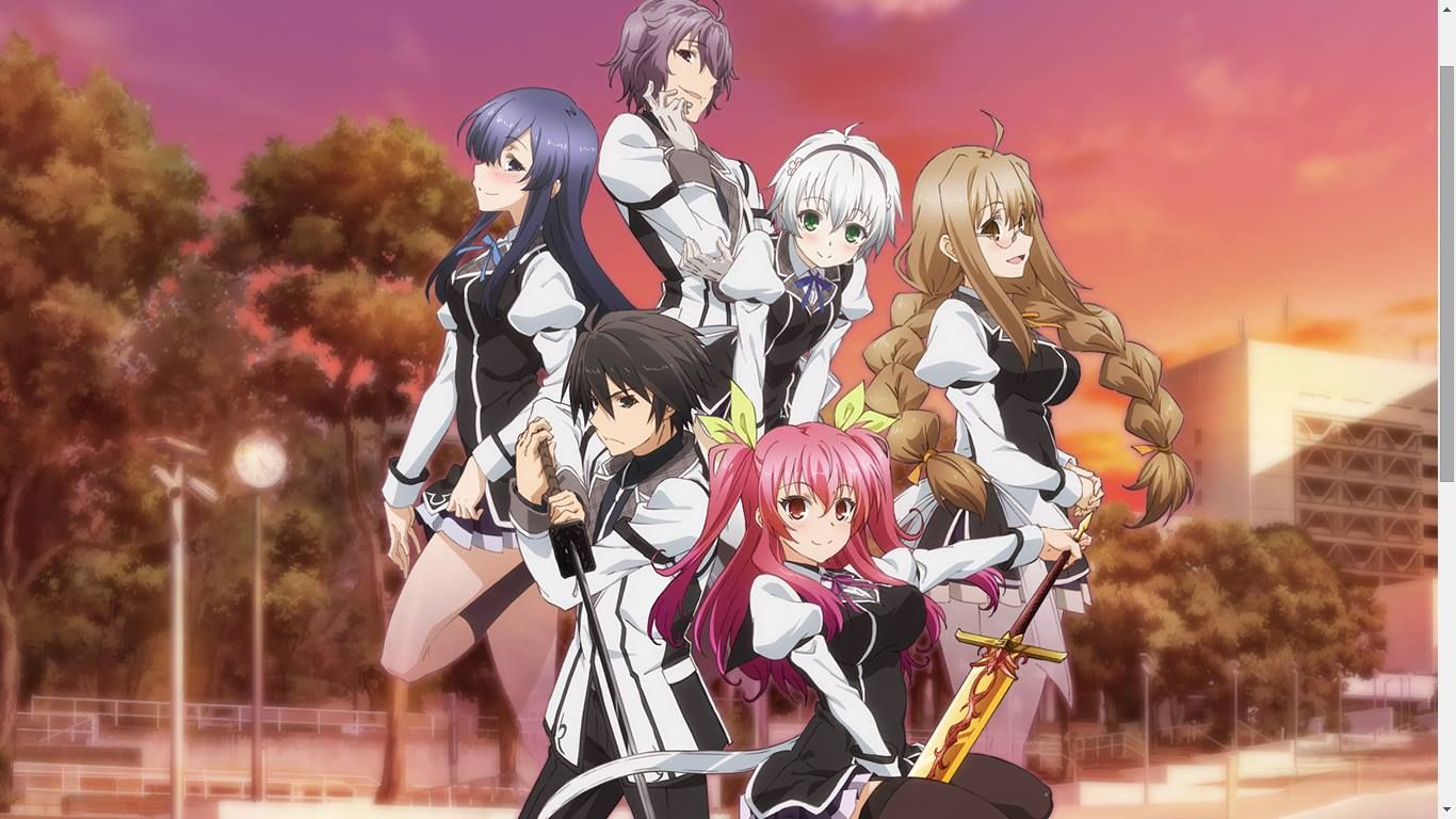 Image result for rakudai kishi no cavalry fight