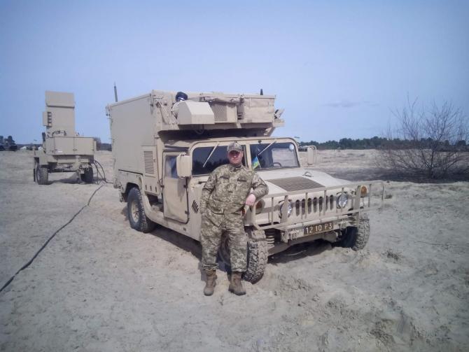 ВСУ применяет БЛА FlyEye в сопряжении c американским радаром контрбатарейной борьбы AN/TPQ-36