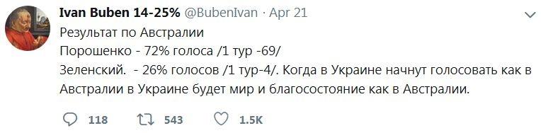 """""""25% - це голосування людей, які знають альтернативу"""", - письменник Бондар відповів журналістці Сергацковій на критику виборців Порошенка - Цензор.НЕТ 7591"""
