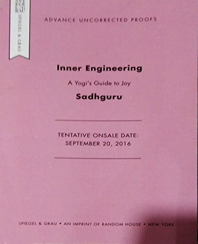 Download Inner Engineering A Yogi S Guide To Joy Free Pdf Book