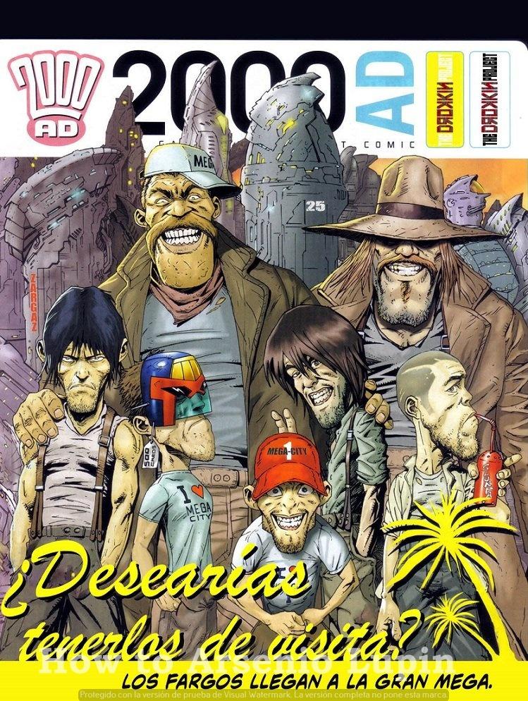 Actualización 20/03/2019: Gracias a la óctuple alianza de HTAL, CRG, Outsiders, Prix, LLSW, Gisicom, 9 Reinos Comics y AT-Comics, conocida como The Drokkin Project, les traemos los Tomos 125: Errores (2000AD 1577-81) por The Geek 8 y Darkvid y 127: Come hasta morir (2000AD 1710-13) por Wrperal y Darkvid. Su doble racion esta lista ciudadanos... ¡Coman! ¡Es una orden miserables!
