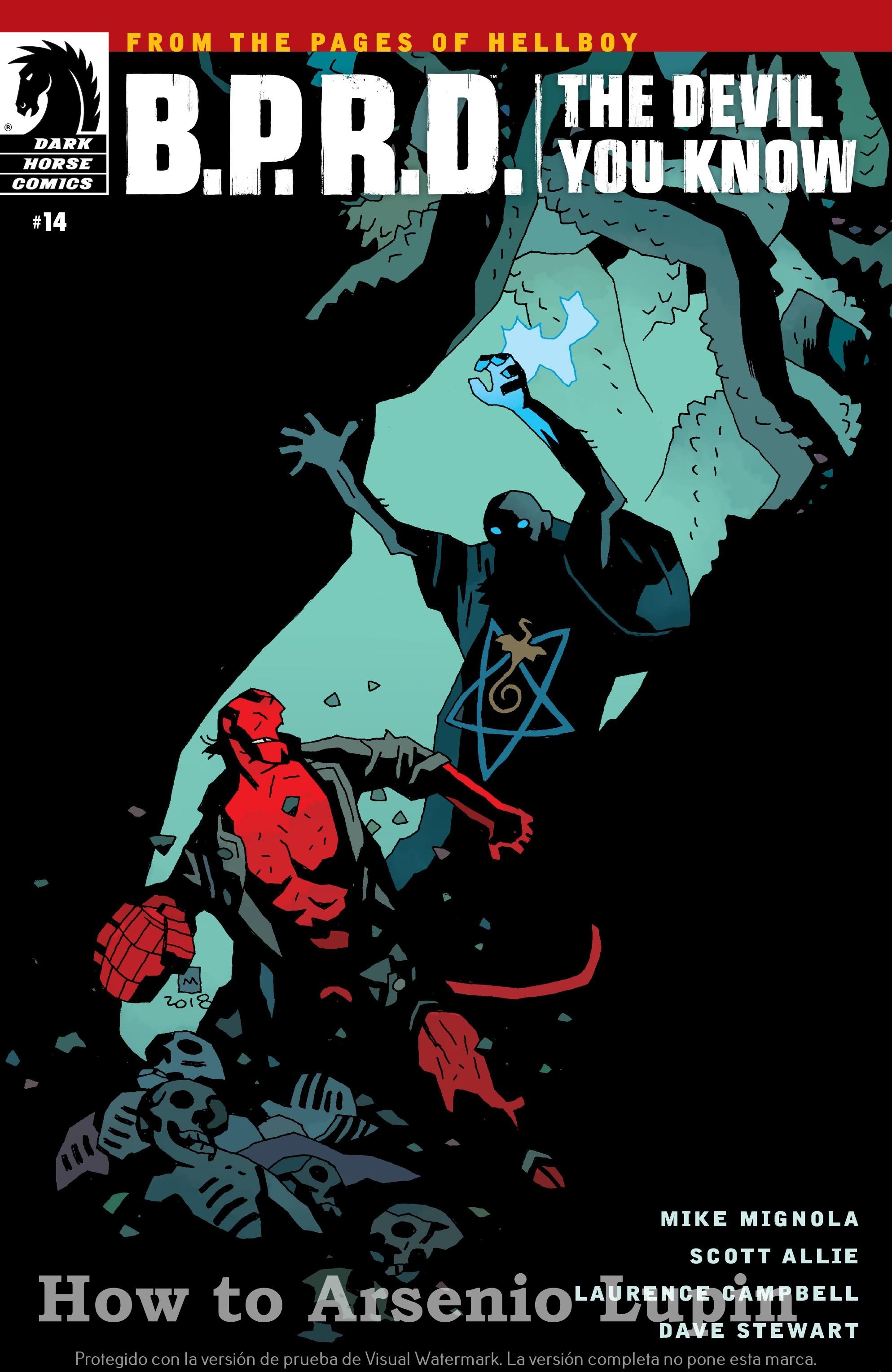 Actualización 21/03/2019: El maquetador EnumaG comparte con nosotros el numero 14 de esta serie. La batalla final para salvar a la humanidad comienza. ¡Hellboy se reincorpora al B.P.R.D. después de 17 años de ausencia!