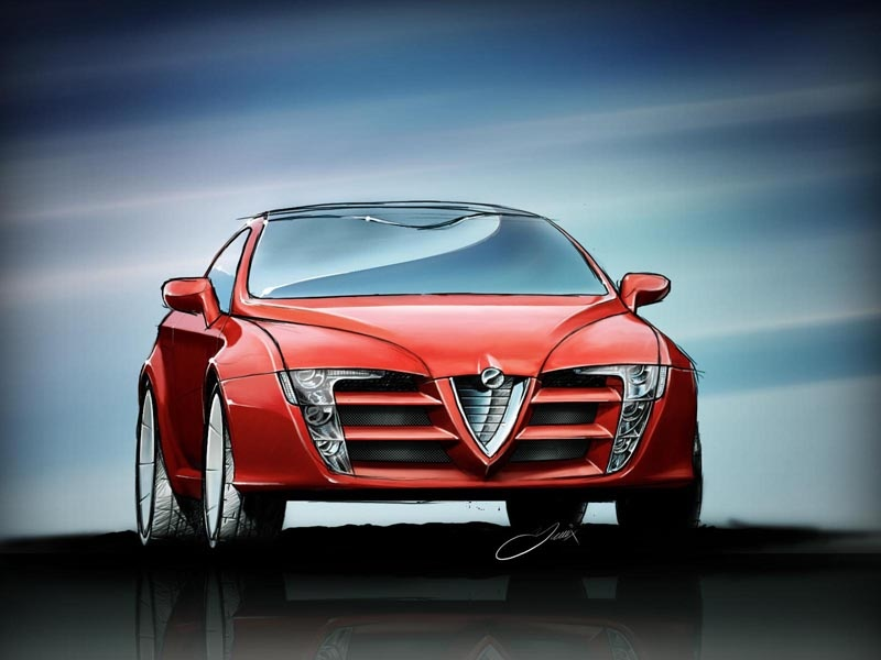 Would This Design Work For A New Alfa Romeo Giulietta? | Carscoops