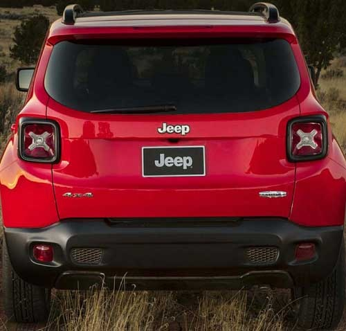 Is This The Facelifted 2019 Jeep Renegade?