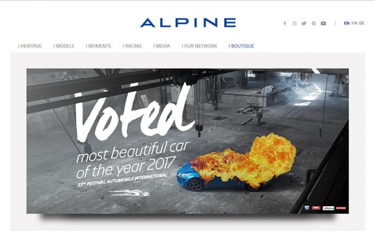 alpine car of the year