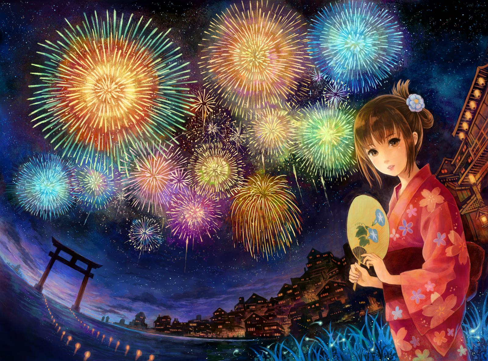 kawaii new year wallpapers