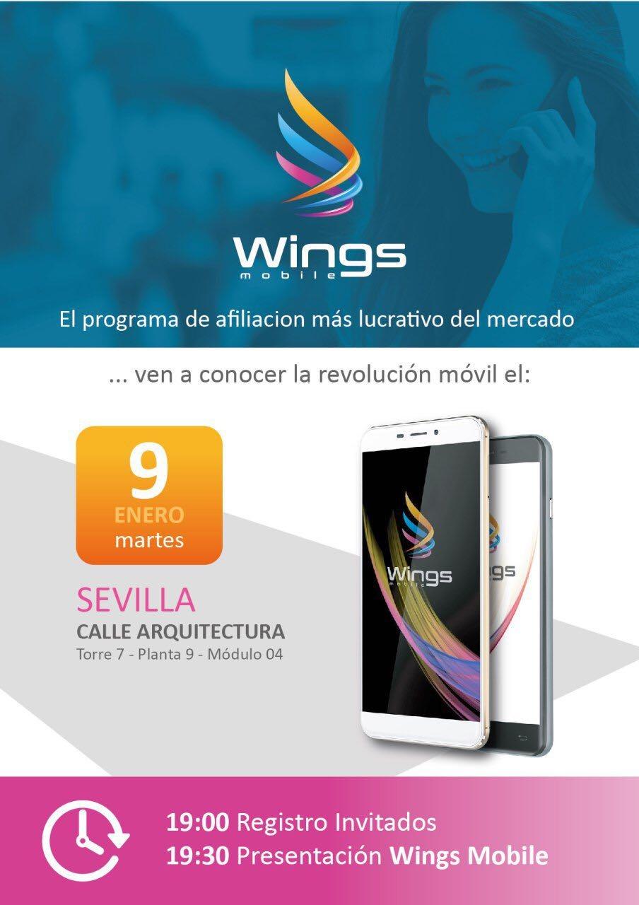 Presentación en Sevilla de Wings Mobile