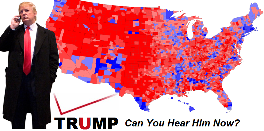 Presidentelect Trump has better coverage than Verizon Can you