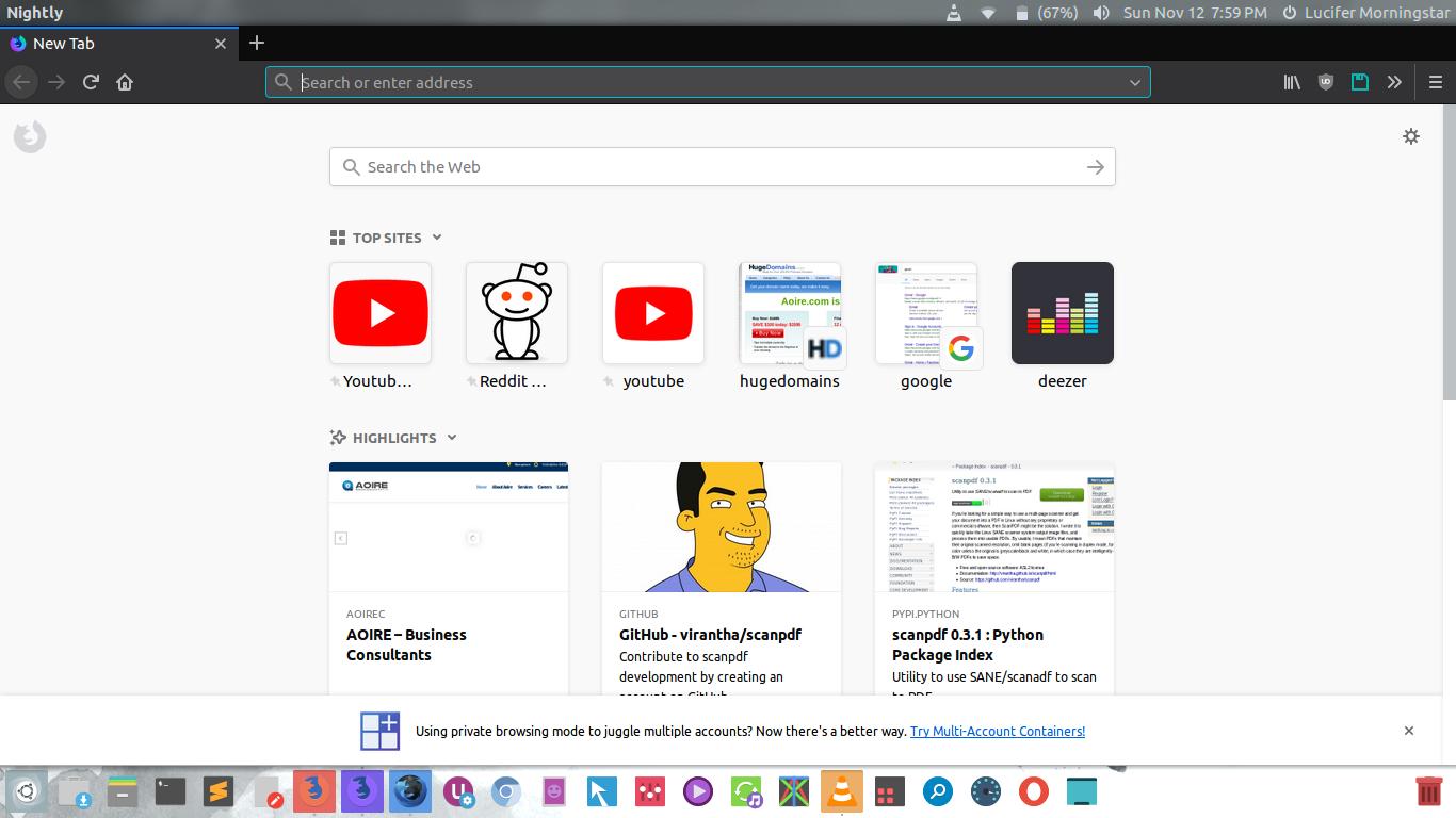 Redhat Firefox