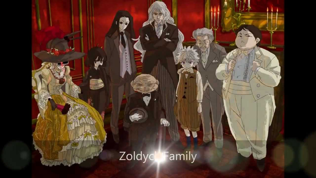 HxRZoldyck Family Arc The Zoldycks Anime For People Disqus