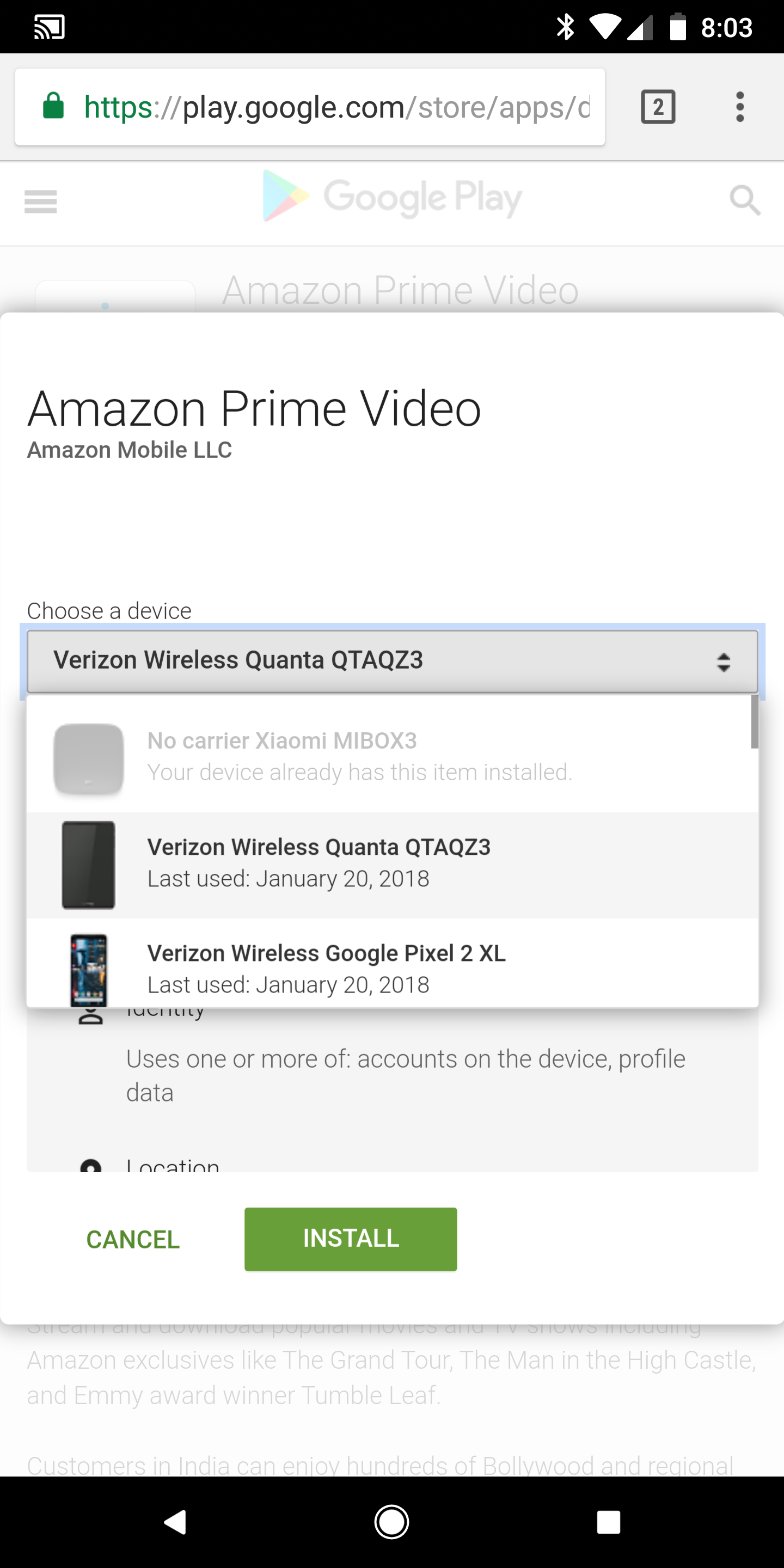 Amazon Prime Video is the official app for this popular service from Amazon that  lets you stream dozens of movies and TV shows completely legally. To be clear ...  Get your Oscar 2017 results with these Android apps. The last Sunday in ...