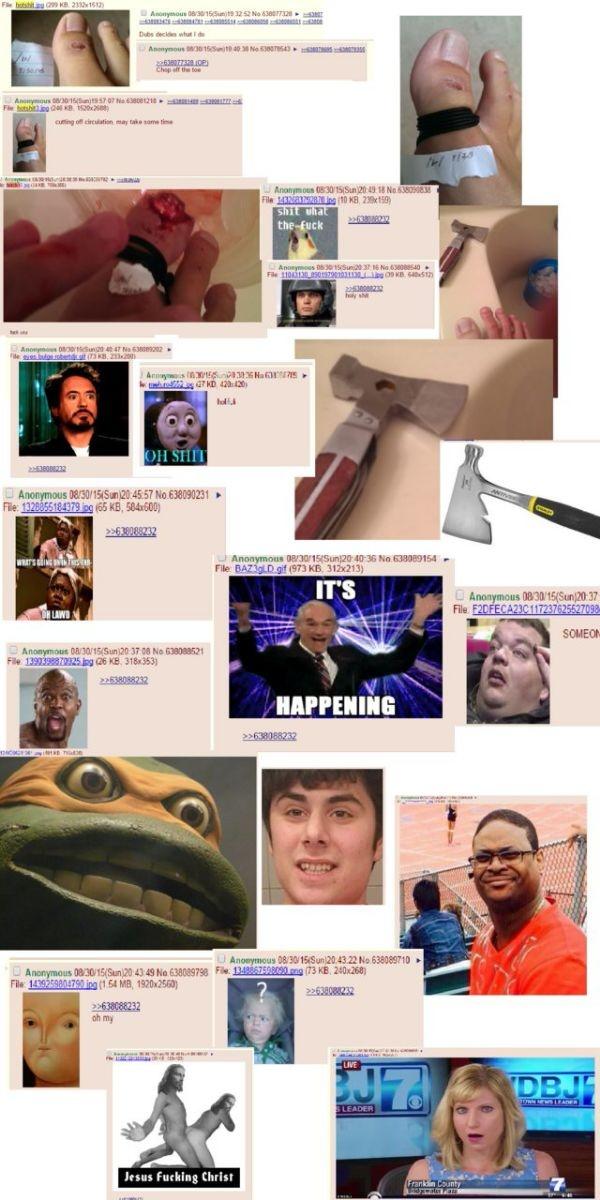 The Internet is creepy: Disturbing 4chan posts~ · ~Fuwa Fuwa Time