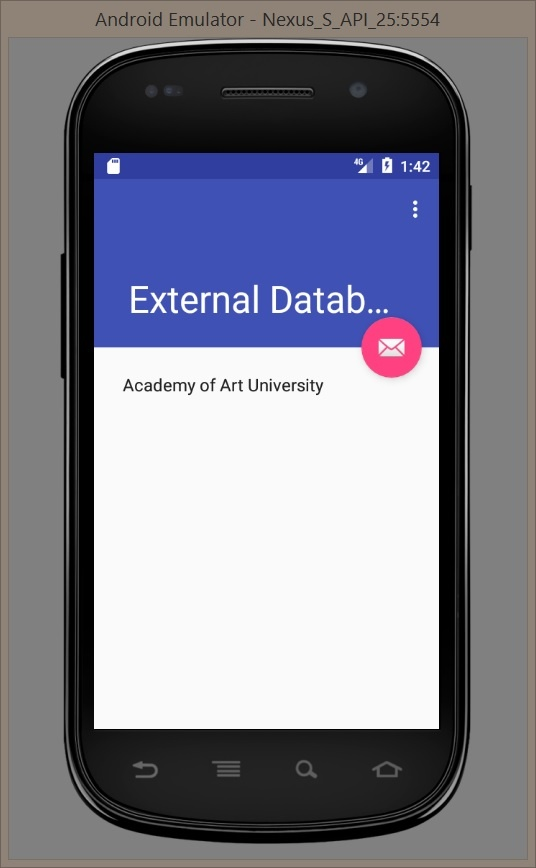 Import and Use External Database in Android