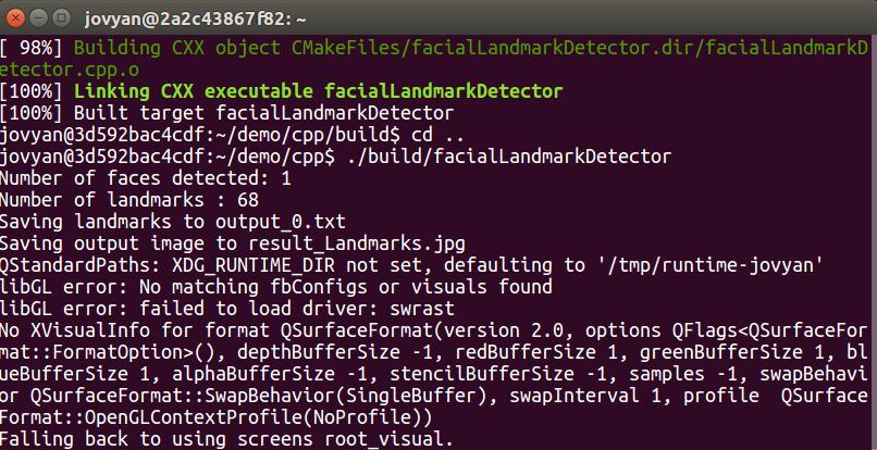 install opencv docker image on ubuntu  macos or windows