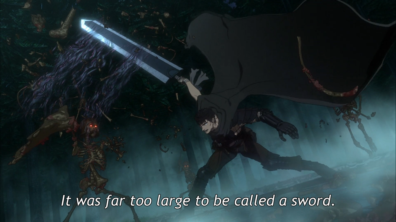 who has the biggest sword anime now disqus