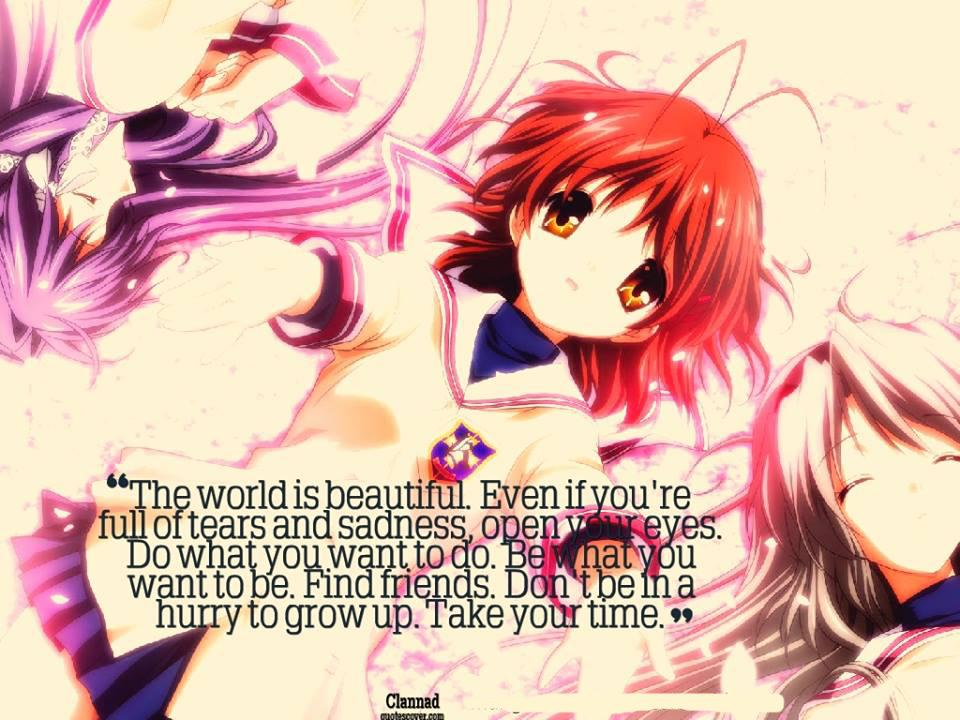 Anime Quotes About Friendship Stunning Quotes Words That Touched Your Soul · Anime Is Love Anime Is