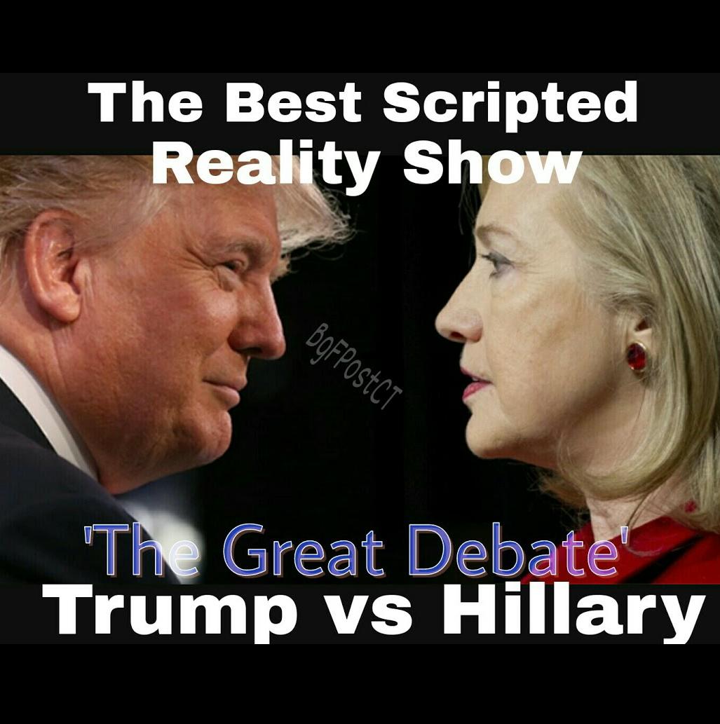 Trump Wins 1st Presidential Debate; Clinton's Name