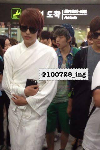 Chaeyoung'ın havaalanı modası ilgi çekti
