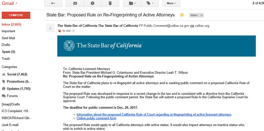State Bar of California poised to require all attorneys to