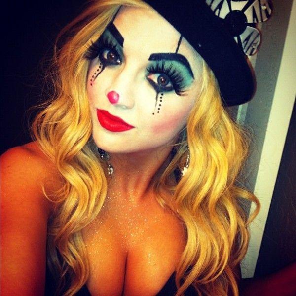 Sex dressed as clowns