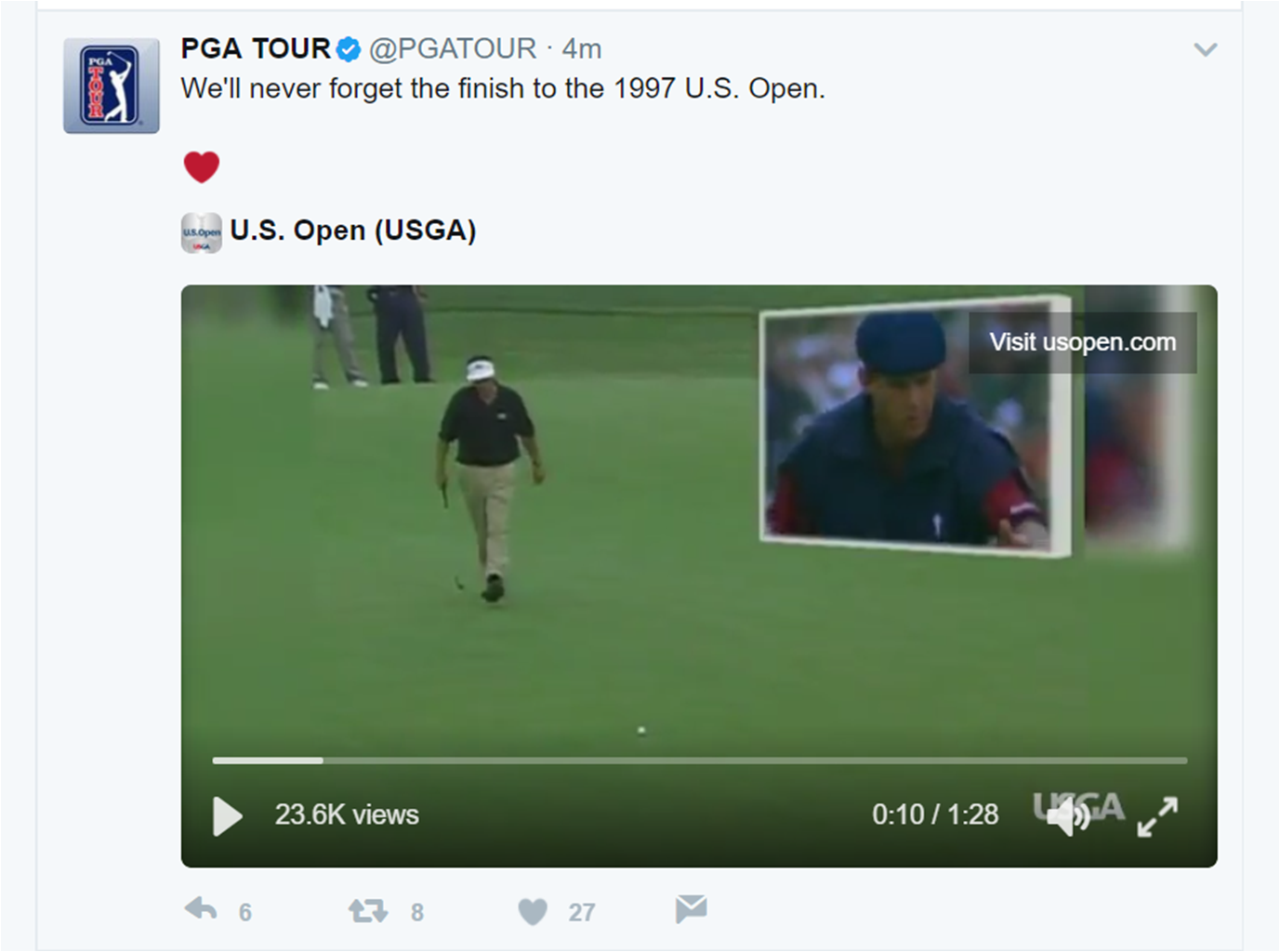 PGA Tour: US Open - Wide Open: Notes from the Ballwasher 4441f94798554aee7e6a69a8640baa68eeb7883d7fc7e56e7823c2c5fa623715