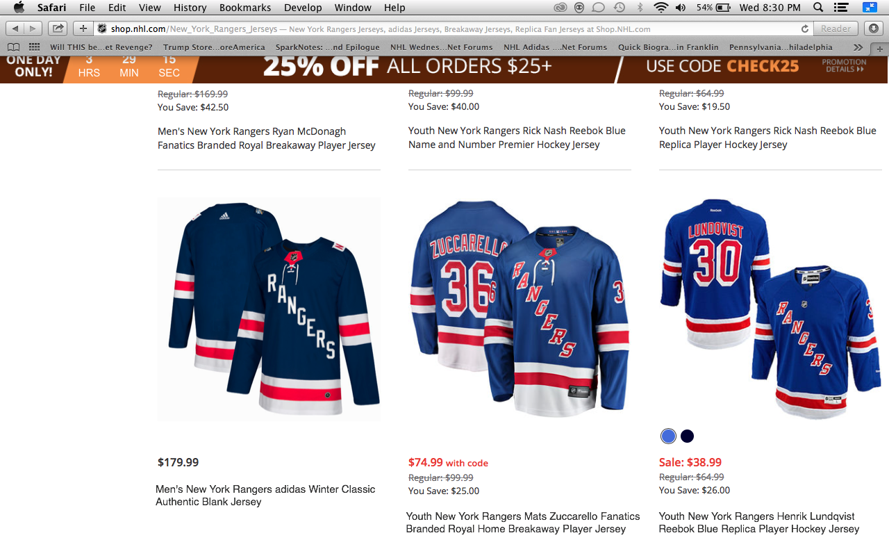 newest collection cc763 f3701 It looks like the New York Rangers' Winter Classic jersey ...
