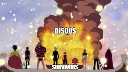 Disqus is Declining    [+ website for old anime] · Anime