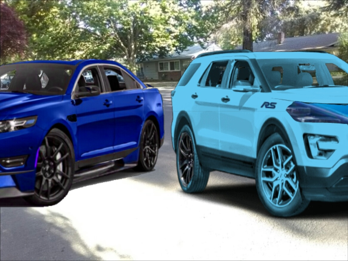 Dodge Jeep Lookout 2019 Ford Taurus Rs And 2019 Ford Explorer Rs