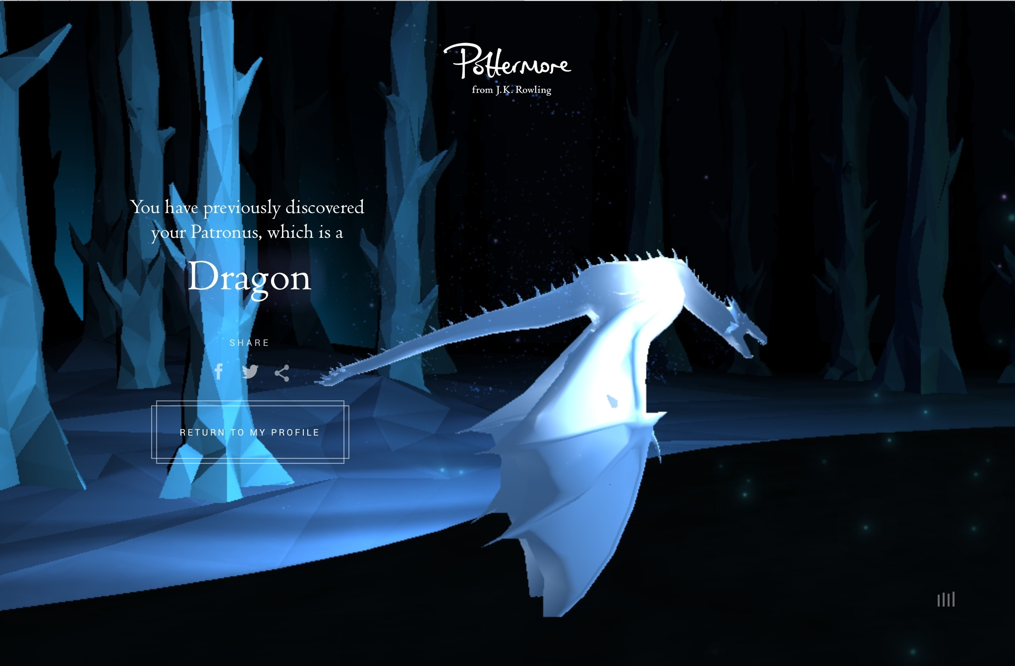 Image result for pottermore patronus swan