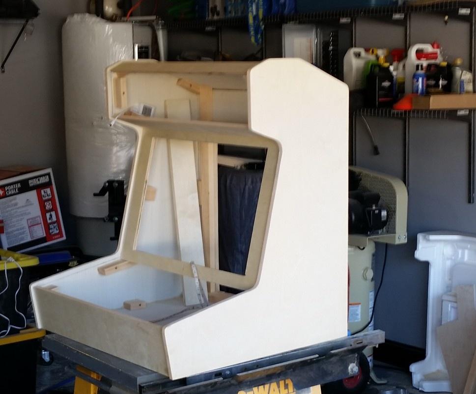 how to make a bar top arcade cabinet i like to make stuff. Black Bedroom Furniture Sets. Home Design Ideas