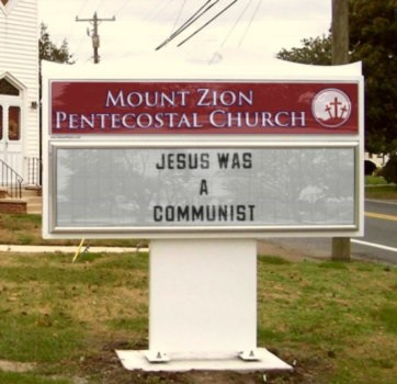 Subversive Church Sign Generator · Lipstick Riot · Disqus