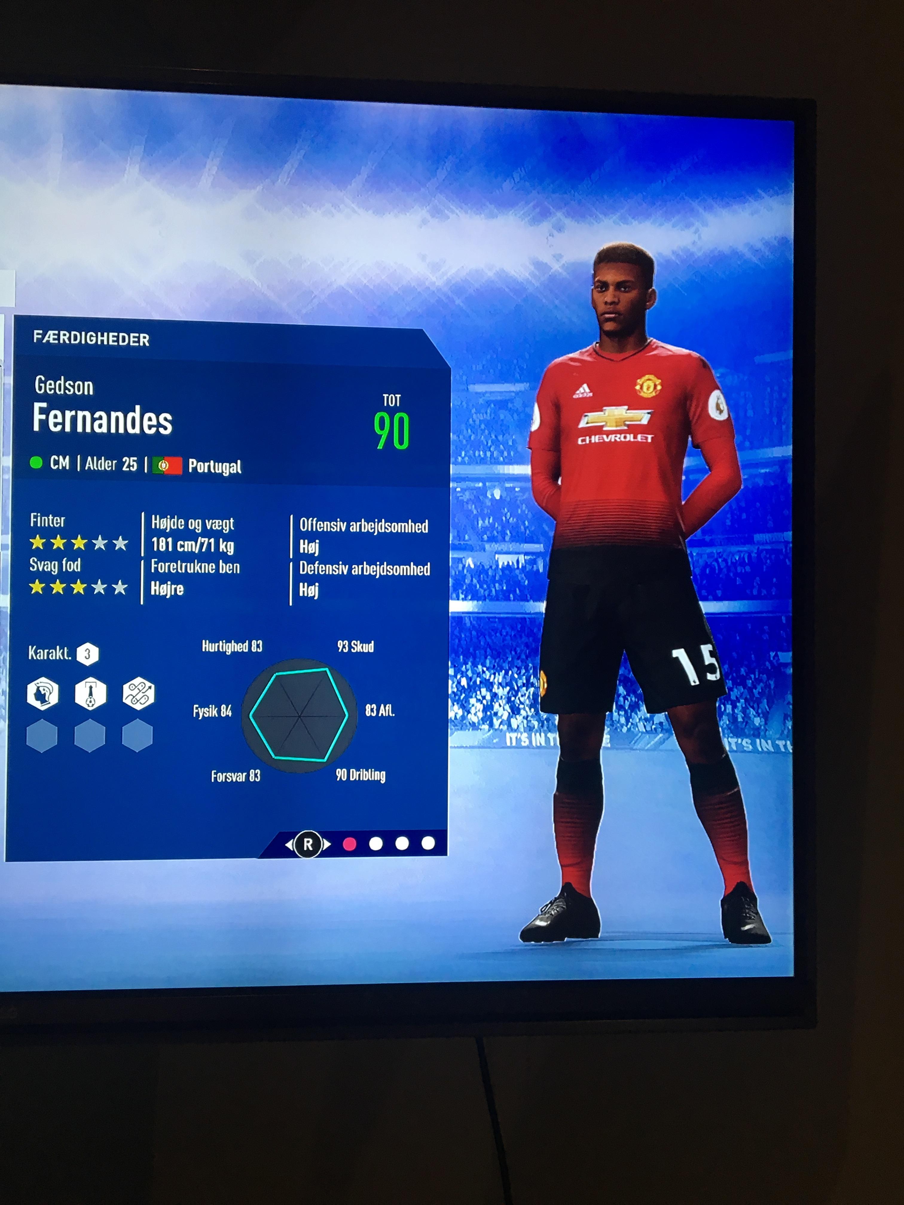 Gedson Fernandes FIFA 19 Jun 13, 2019 SoFIFA