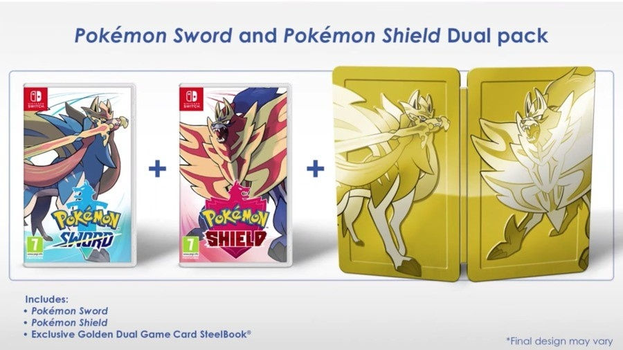Pokemon Sword and Shield Dual Pack
