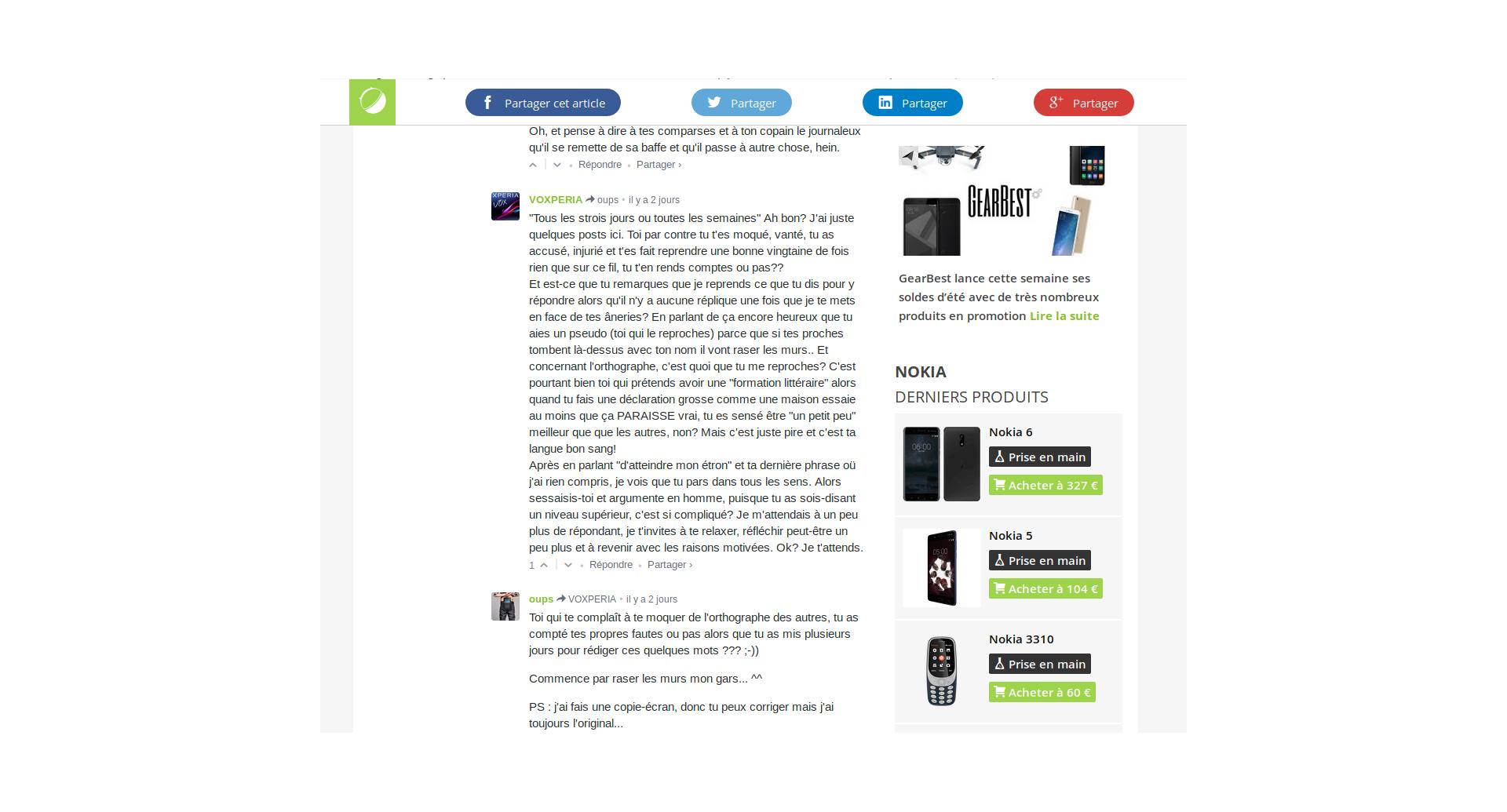 Exclusif a essayé le Nokia 8 avant sa présentation impressions et caractéristiques FrAndroid