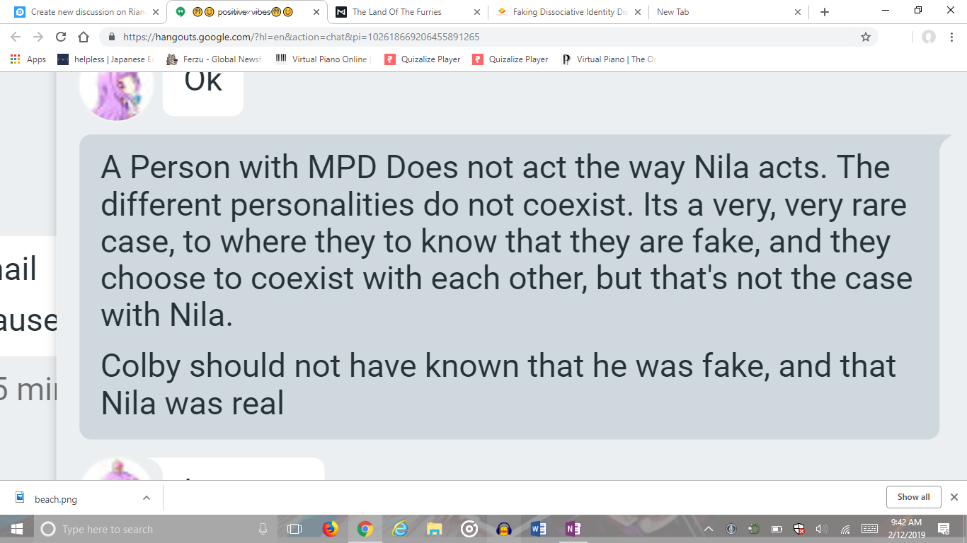 How can you tell your friend online is faking MPD? (Multiple