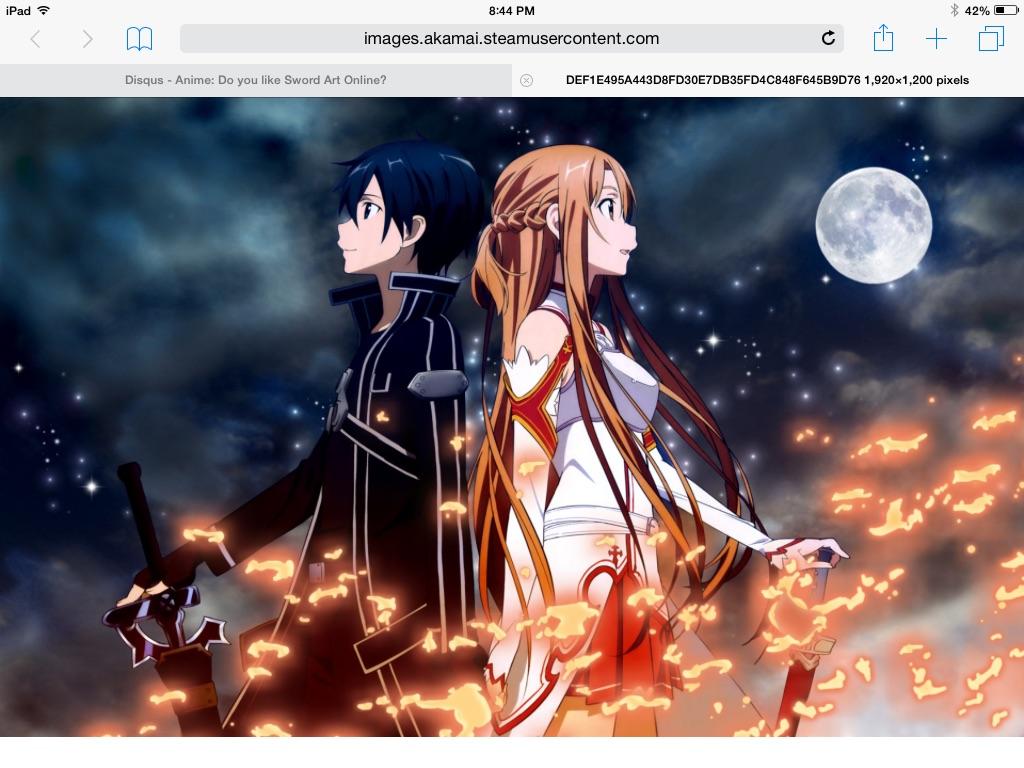 Anime: Do you like Sword Art Online? · Anime is Love, Anime