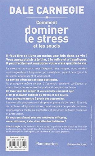 comment dominer le stress et les soucis pdf gratuit