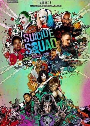 Resultado de imagem para cartaz esquadrao suicida