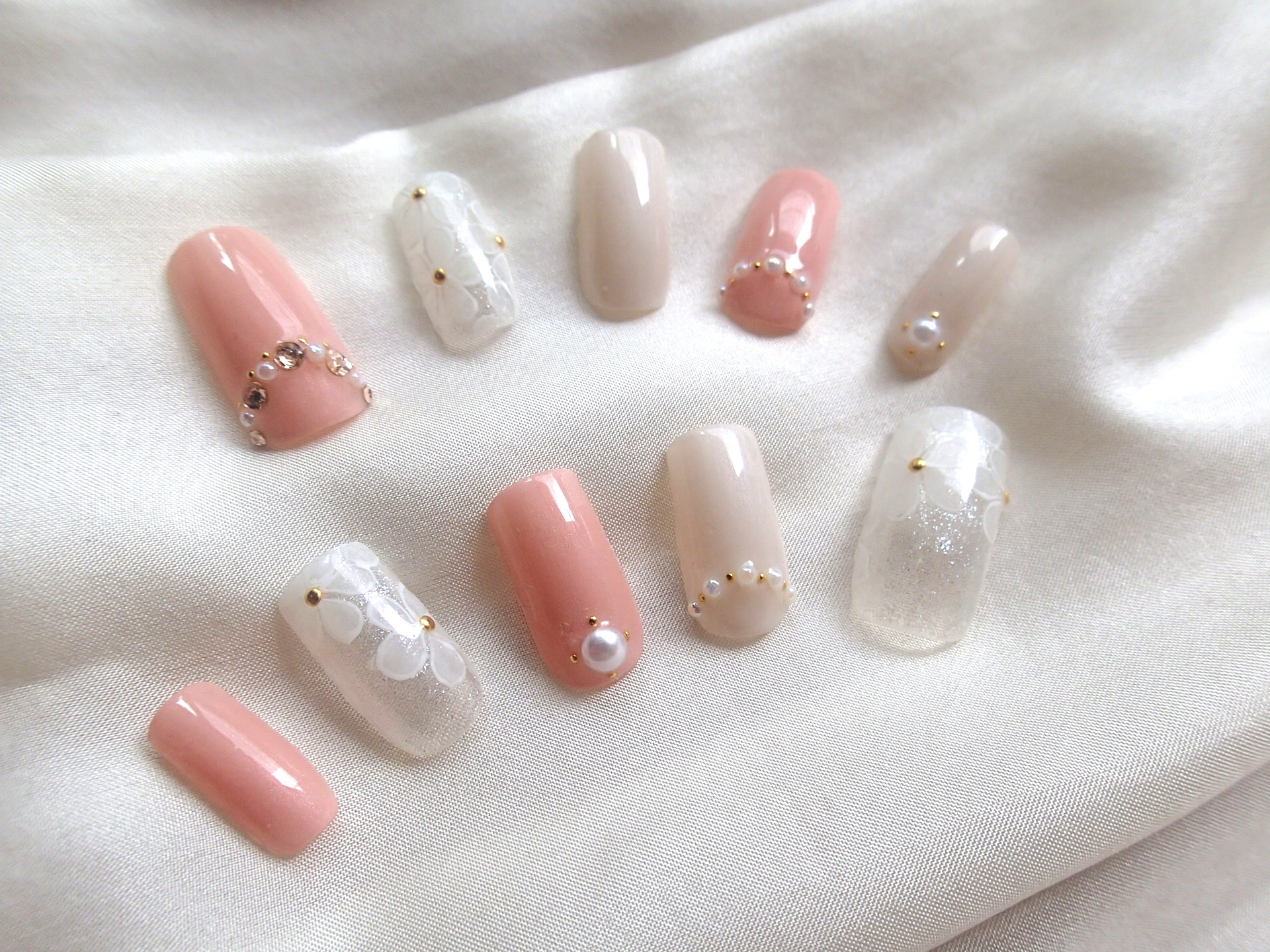 What colors do you associate to wedding nail art designs? · Talk ...