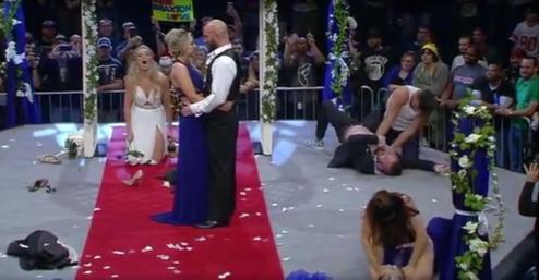 Post image of Брэкстон Саттер и Элли остаются в Impact Wrestling