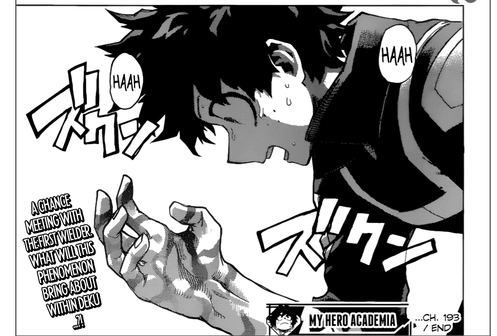 7de4d0ee6f2e MHA Chapter 193 (Discussion) · Anime Related! · Disqus