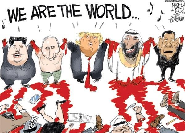 Trump and his pals
