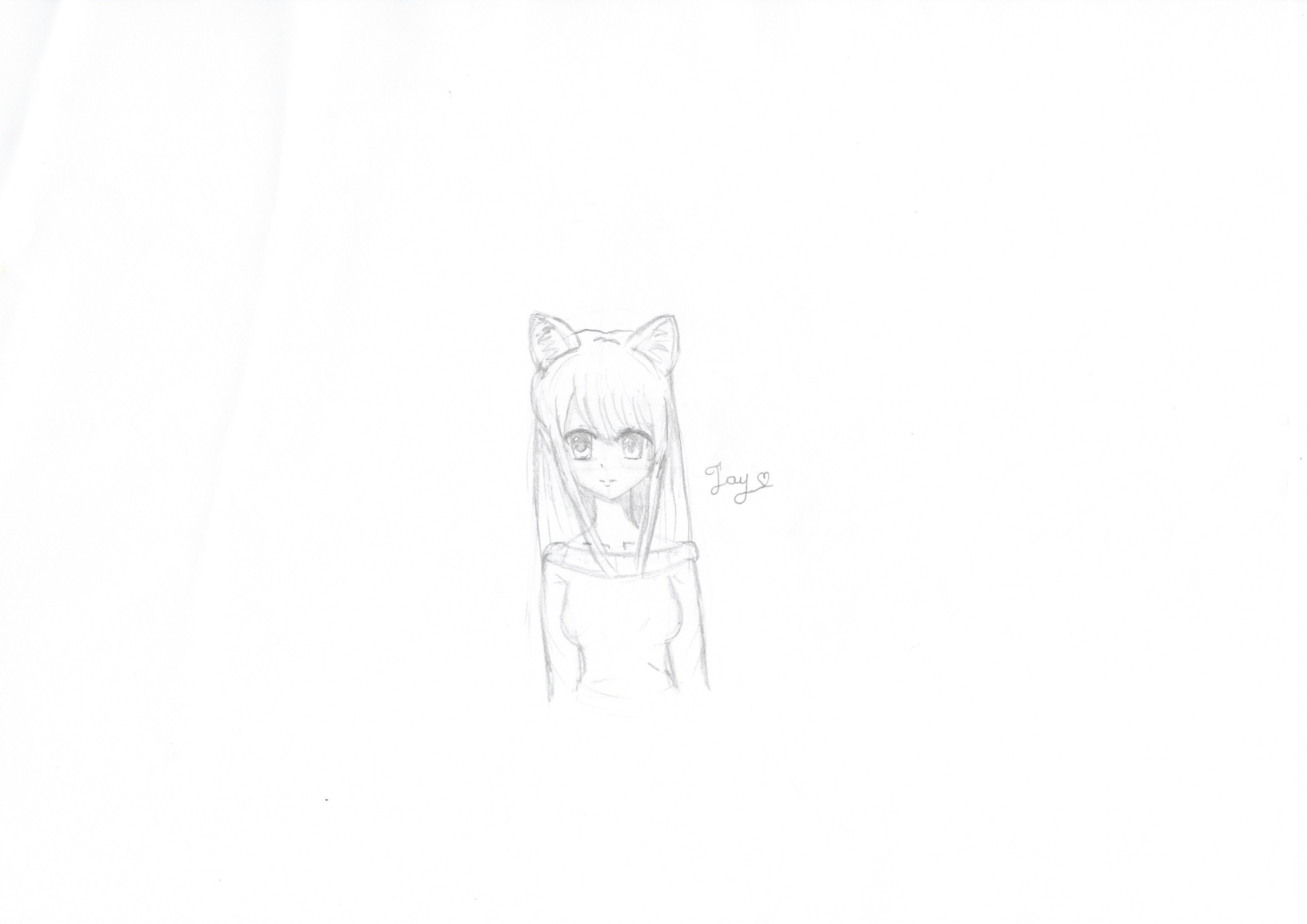 How To Draw A A Kawaii Anime Girl Easy Easy For Beginners Part 2