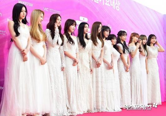 Jang Wonyoung '2019 Seul Müzik Ödülleri' kırmızı halısında asil görünüyor