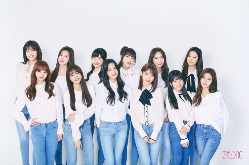 IZ*ONE members profile