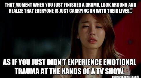 What do you do after you finish a drama? · Kdrama club · Disqus