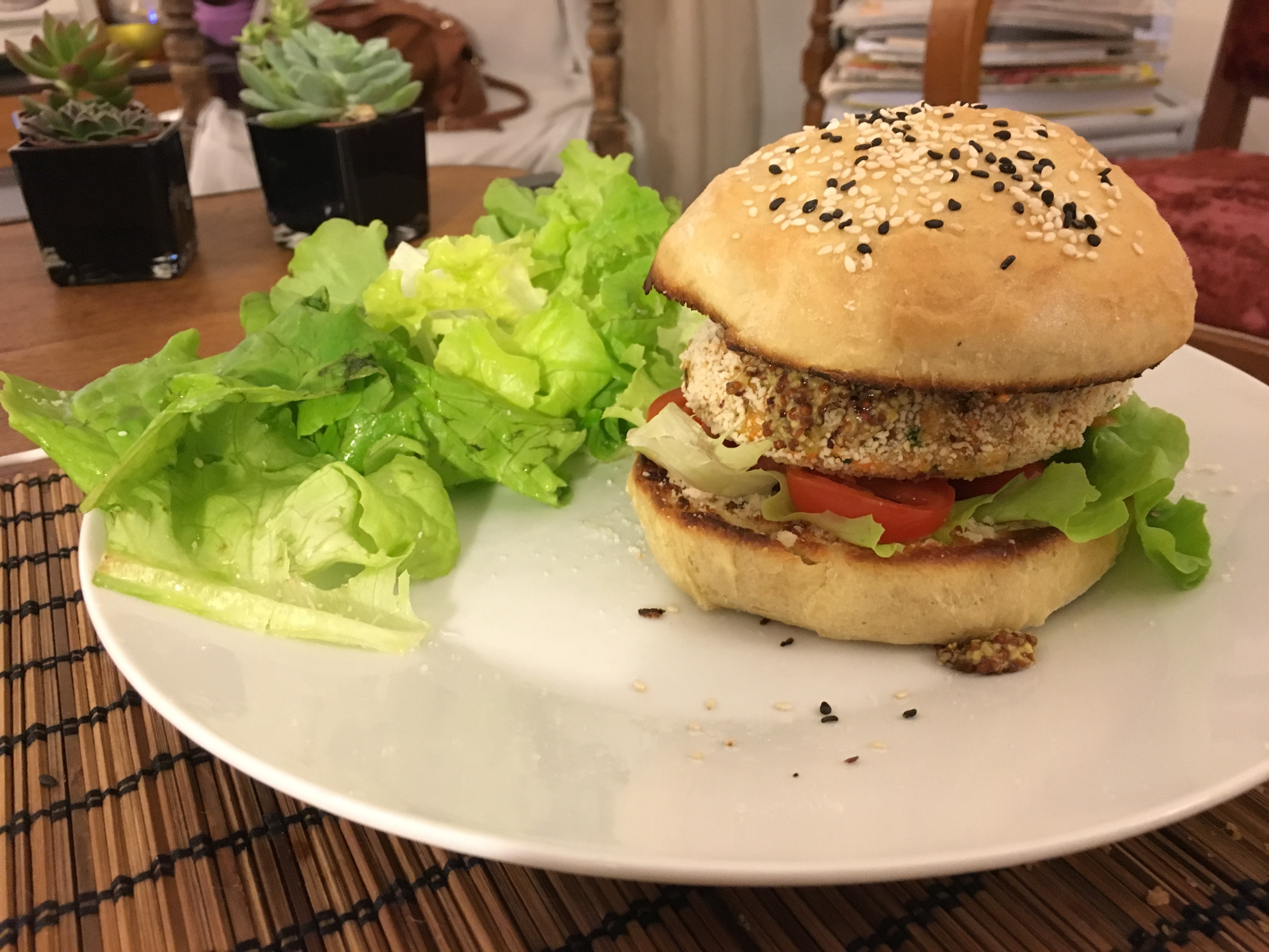 Chicken burger maison - Herve cuisine hamburger ...
